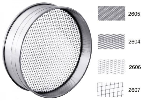 RUNDSIEB EXTRA FEINMASCHIG Durchmesser: 25 cm