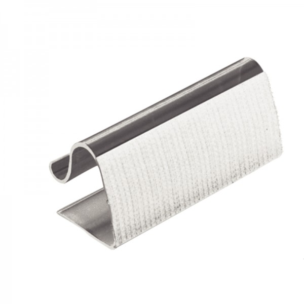Klettbandtischklipps für Skirtings, 5-20mm (10er Pack)