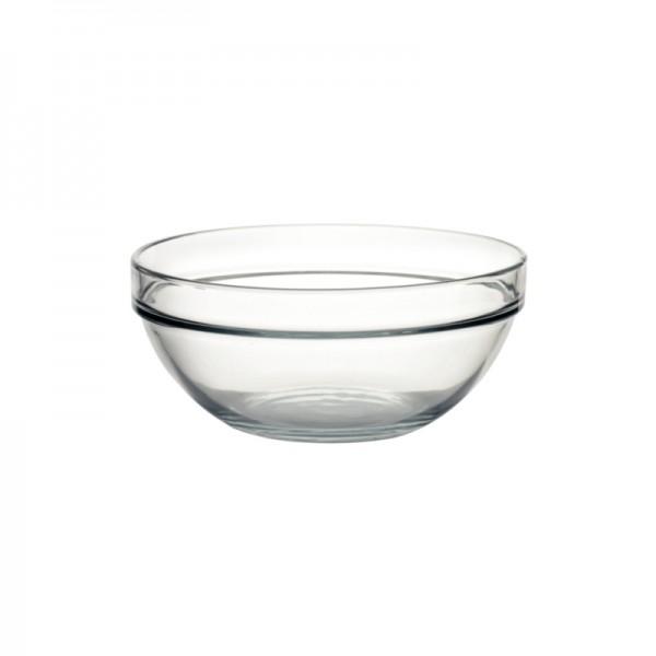 Salatschale aus Glas 23cm