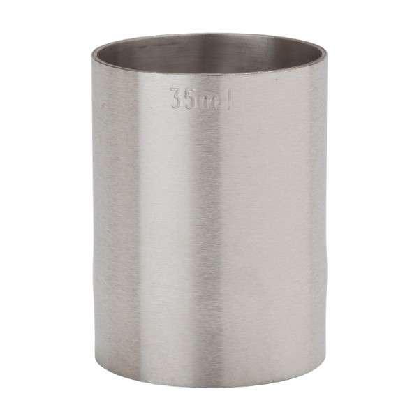 Edelstahl Doppelmaß 35 ml