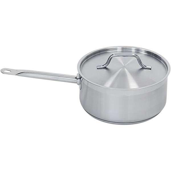 Stielkasserolle mit Deckel, Ø 160 mm, Höhe 95 mm, 1,9 Liter