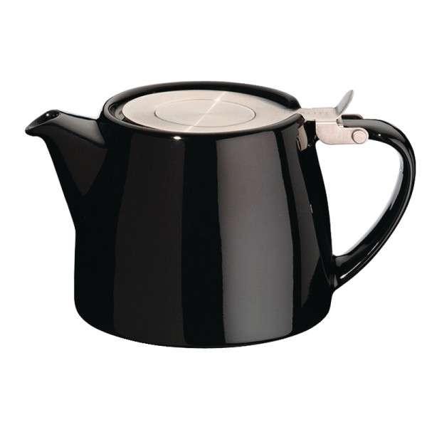 Stapelbare Teekanne schwarz 0,5Ltr