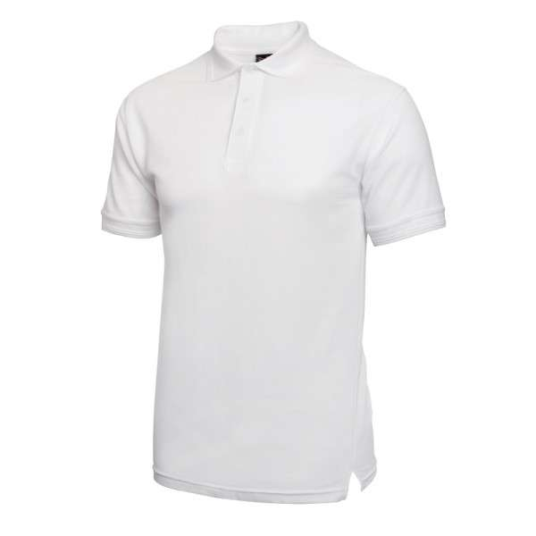 Poloshirt weiß Größe: L
