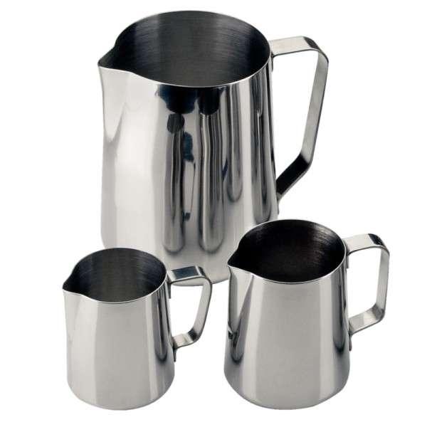 Milch-/Wasserkrug Edelstahl 1,0Ltr
