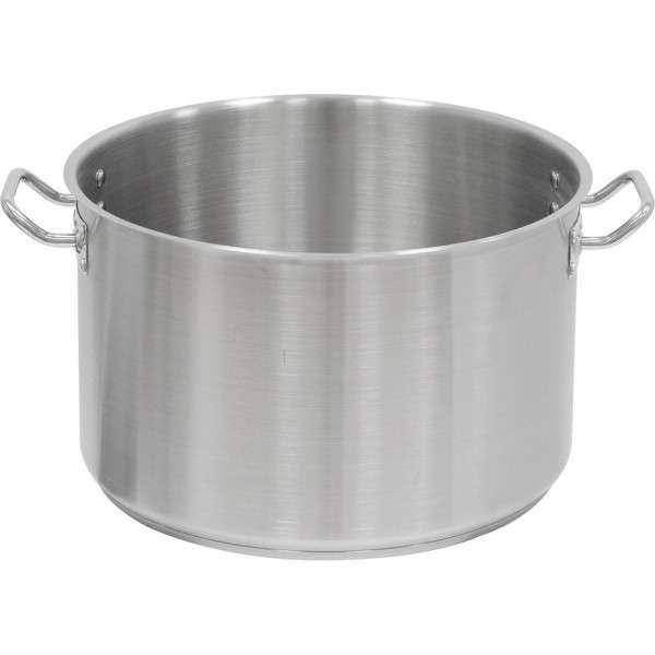 Suppentopf ohne Deckel, Ø 400 mm, Höhe 250 mm, 31,4 Liter