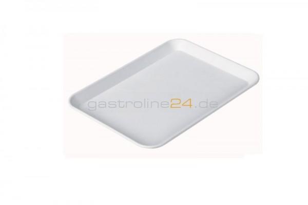 Rechteckige Schale 240x180 mm - ABS weiß