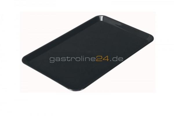 Rechteckige Schale 360x240 mm - ABS schwarz