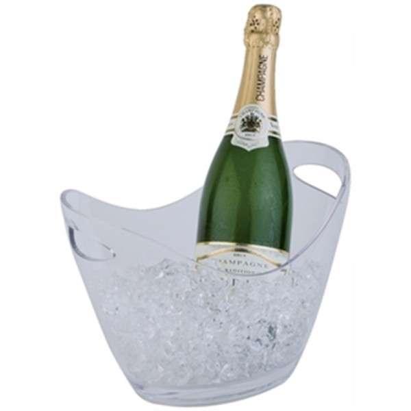 Champagnerschale Durchsichtig Klein