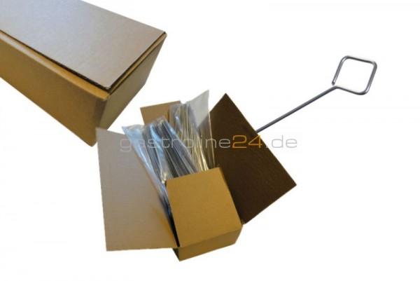 Flache Cns Fleischspiesse 3X1,5 - 200Mml 400 Stück/Karton - Linum