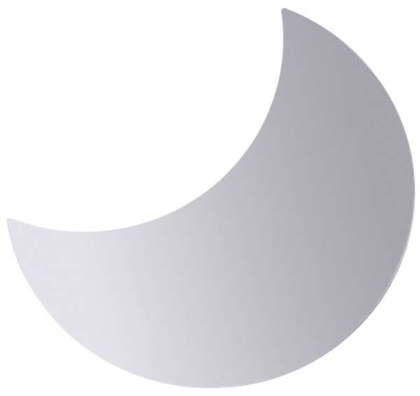 SYSTEMBANKETTPLATTE HALBMOND Durchmesser: 50 cm
