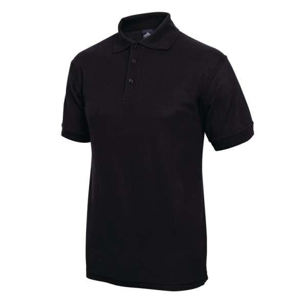 Poloshirt schwarz Größe: S