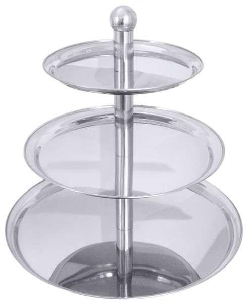 ETAGERE, 3-STUFIG Durchmesser: 30 cm / 40 cm / 5