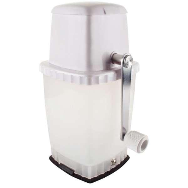 Eiscrusher mit Vakuumstand Weiss