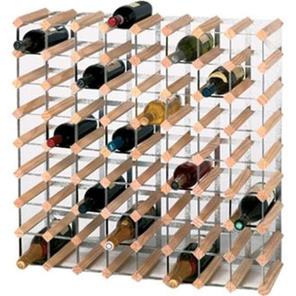 Weissregale 72 Flaschen