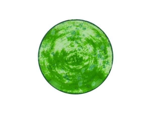 TELLER FLACH 24 CM - GREEN