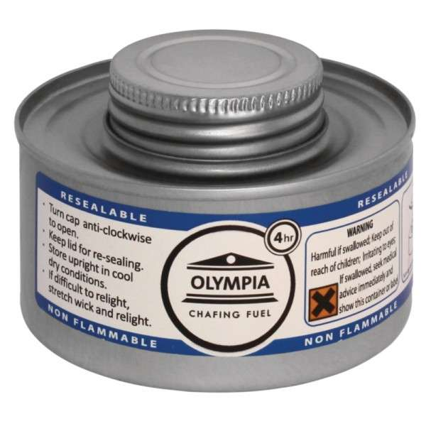Olympia Chafing Dish Brennpaste 4 Std. (Box = 12 Stück)