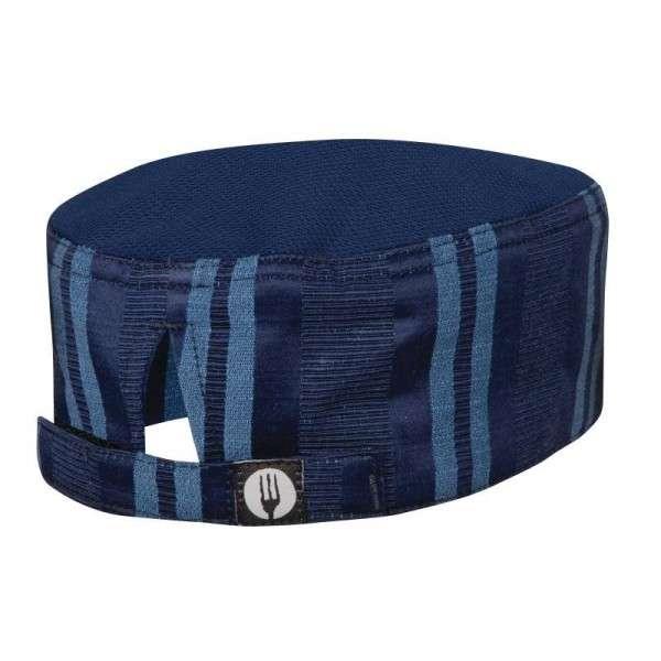 Kopfbedeckung Größe: Einheitsgröße. Unisex. Farbe: Navy/Blau gestreift