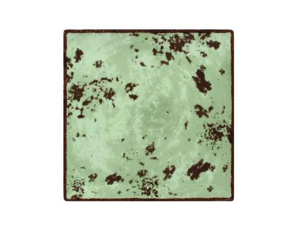 TELLER FLACH QUADRATISCH 27 cm - GREY