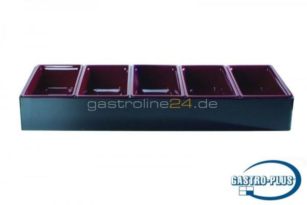 Halter für 5x Salatschüsseln 2714 (L 740 mm)