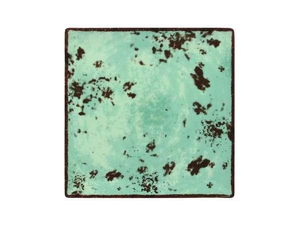 TELLER FLACH QUADRATISCH 27 cm - BLUE