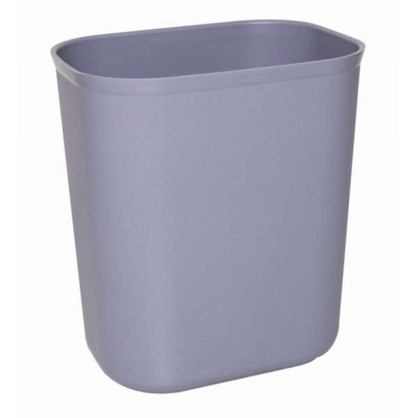 Papierkorb rechteckig 6 Liter