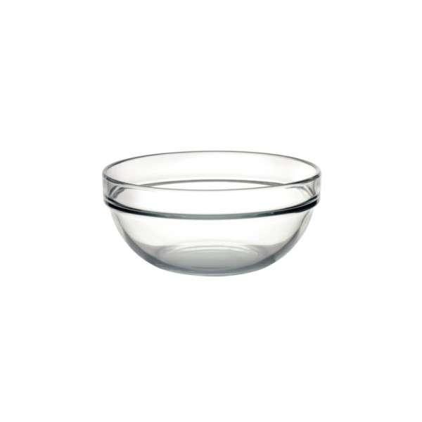 Salatschale aus Glas 17cm