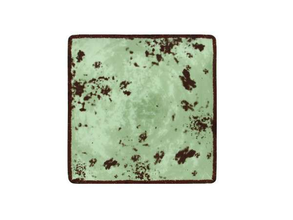 TELLER QUADRATISCH 25 cm - GREY