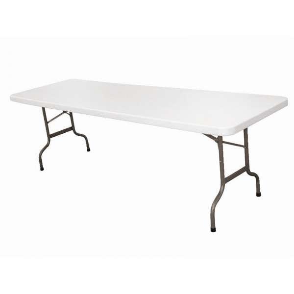 Bolero Buffet-Tisch Klappbar 244 cm Grau