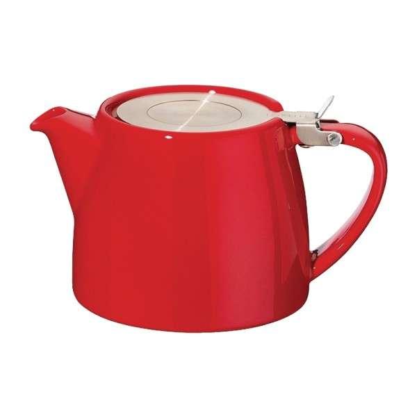 Stapelbare Teekanne rot 0,5Ltr