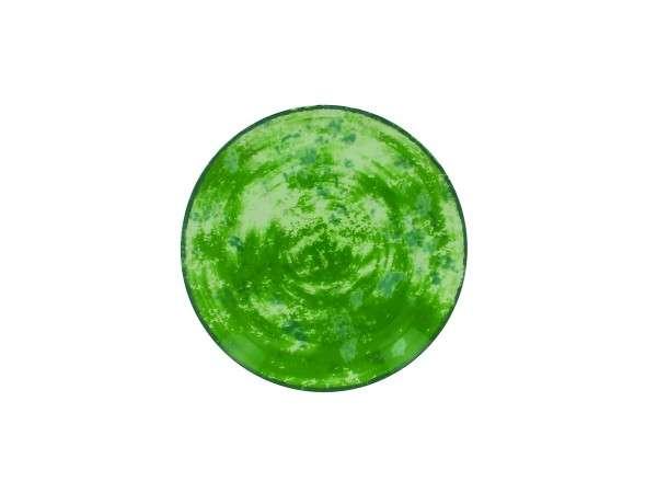 TELLER FLACH 21 CM - GREEN