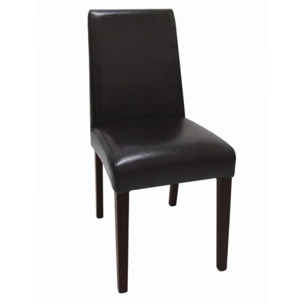 Bolero Stühle Schwarzes Kunstleder 2 Stück