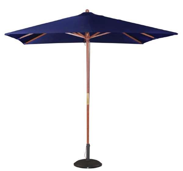 Bolero Quadratischer Sonnenschirm 2,5m breite Marineblau