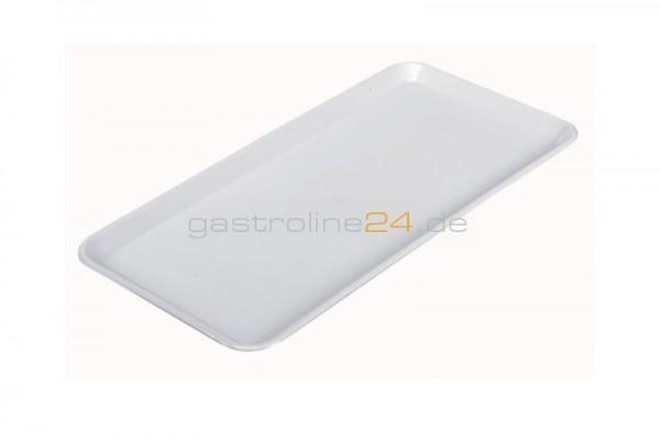 Rechteckige Schale 400x200 mm - ABS weiß