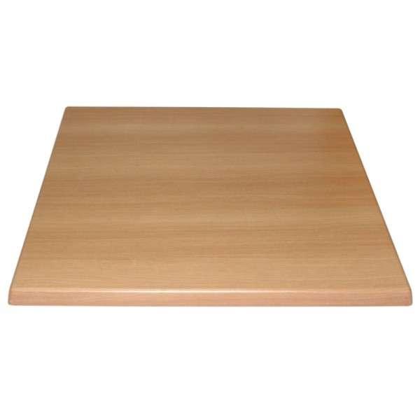 Bolero Tischplatte Viereckig Buche 60 cm