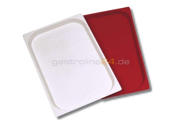 ABS Tablett 600 x 400 mm Rot Linum