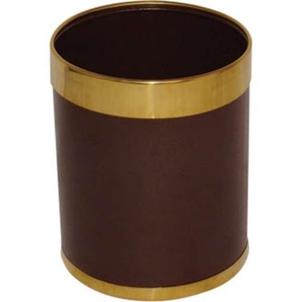 Papierkorb braun 10,2 Liter