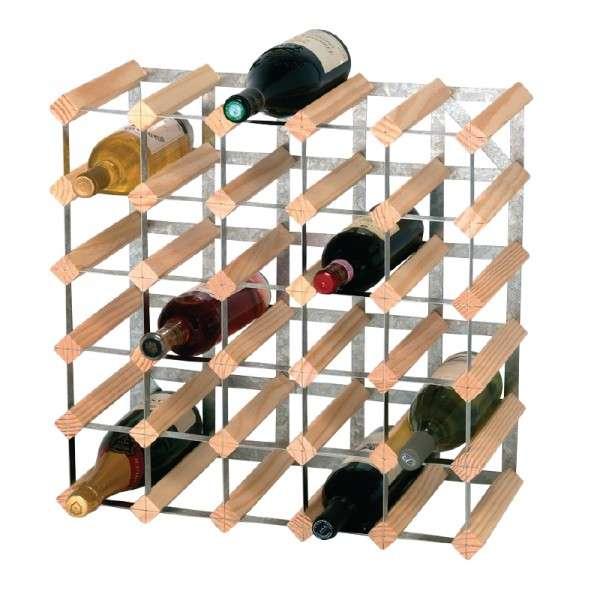 Weissregale 30 Flaschen