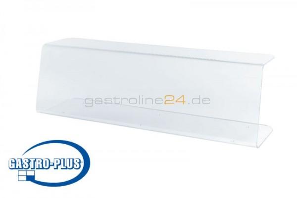 Ladentischplexi mit offenen Seiten (1010x285x300 mm)
