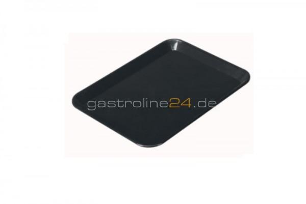 Rechteckige Schale 240x180 mm - ABS schwarz