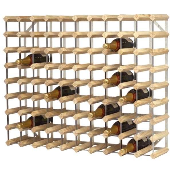 Weissregale 90 Flaschen