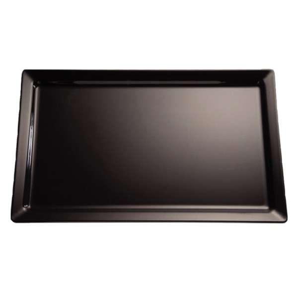 Pure Melaminplatte schwarz GN 1/2