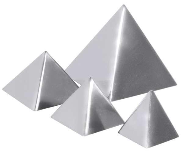 PYRAMIDE 8,5 X 8,5 CM Fläche: 8,5 cm x 8,5 cm