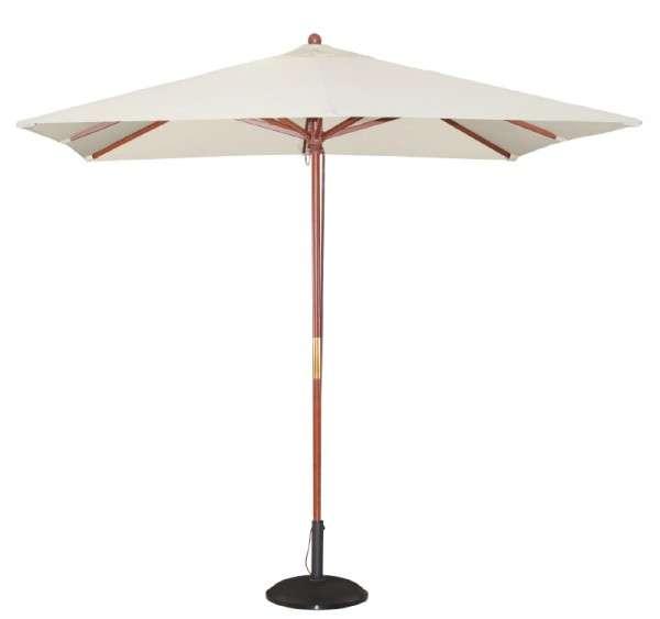 Bolero Quadratischer Sonnenschirm 2,5m breite Creme