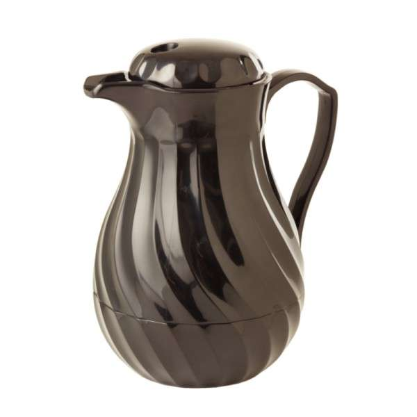 Servierkanne schwarz (0,6Ltr)