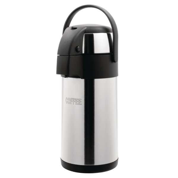 Olympia Isolier-Pumpkanne geätzt Kaffee 3 Liter
