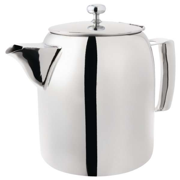 Cosmos Edelstahl-Kaffee-/Teekanne 0,3ltr