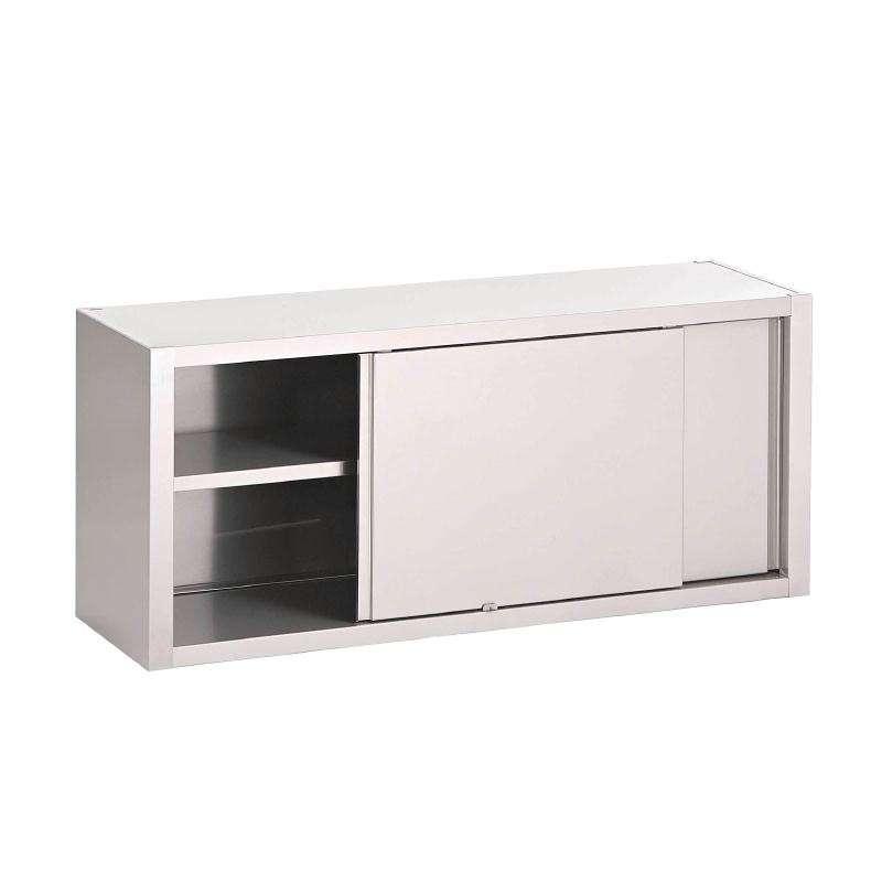 gastro m wandschrank mit schiebet ren 1500x400x600mm wandh ngeschrank mit schiebet ren. Black Bedroom Furniture Sets. Home Design Ideas