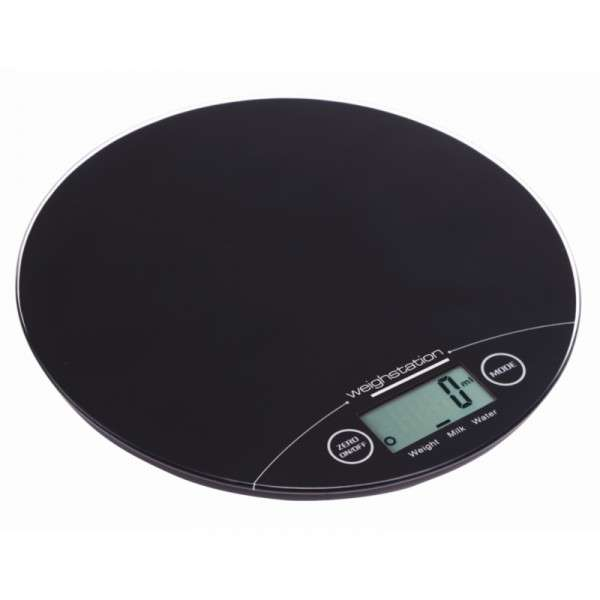Weisshtstation Elektronische runde Waage 5kg
