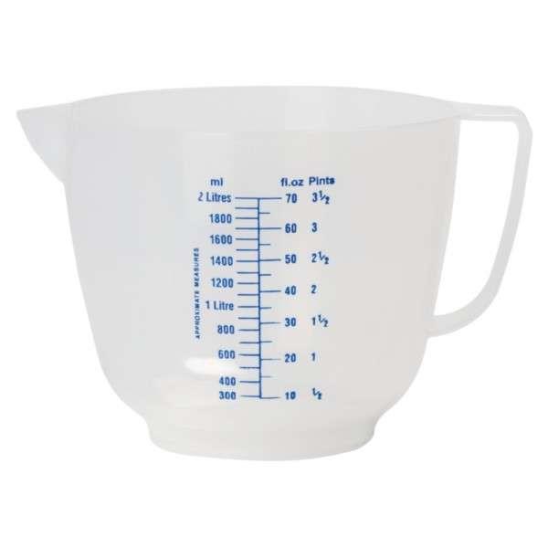 Geprägter Messbecher 2 Liter