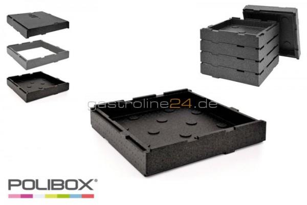 Boden oder Deckel Single Pizza System Abm. 410X410xH85 mm
